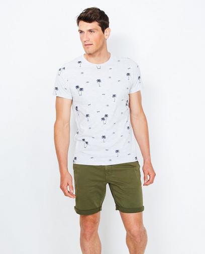 T-shirt met zomerprint